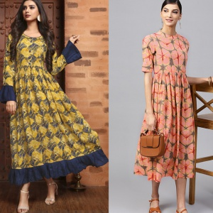 Pack Of 2 Party Wear Designer Kurtis