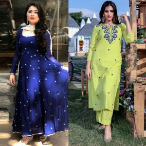 Combo Of 2 Designer Dresses