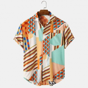Multi Color Fancy Printed Shirt