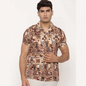 Multi Regular Fit Printed Casual Shirt