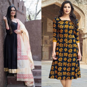 Combo Of 2 Casual Wear Dresses
