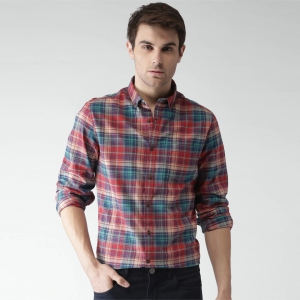 Men Multi Color Regular Fit Striped Casual Shirt
